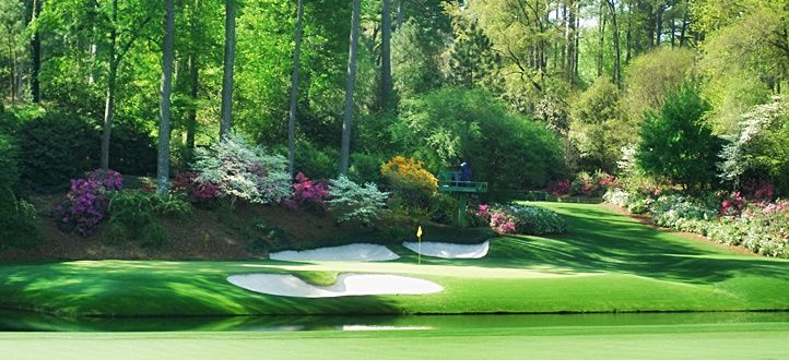 The masters master 39 s golf mural reference pinterest for Augusta national wall mural