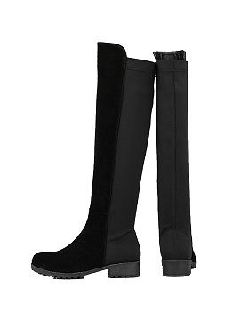 Shop Black Over the Knee Boots from choies.com .Free shipping Worldwide.$84.99