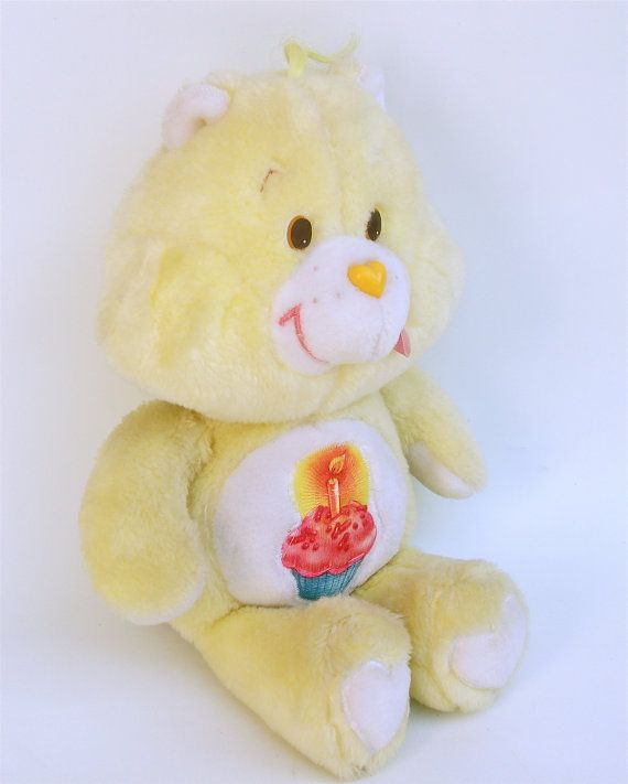 vintage birthday care bear plush doll birthdays bears