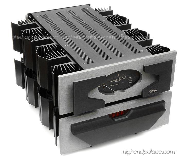 Krell Audio Standard (KAS) Monoblock Power Amplifier (front). http://sundaestudio.com