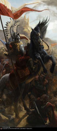 Polish Winged Hussar by Piotr Arendzikowski | 2D | CGSociety