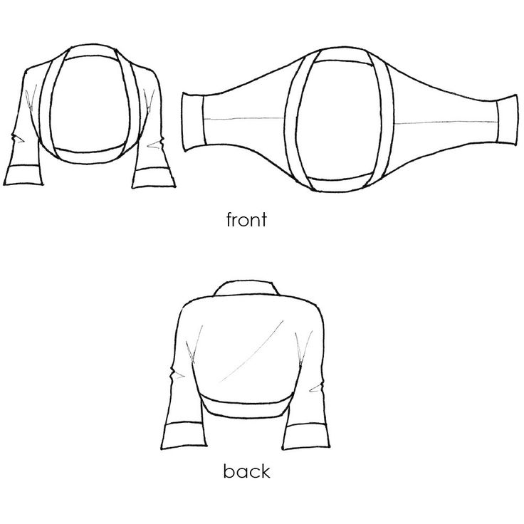 easy shrug sewing pattern
