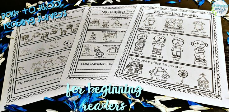 Looking for a great way to get to know your new readers?! These beginning reader interest surveys will help you learn all about your new readers and allow you the opportunity to personalize their reading experiences!
