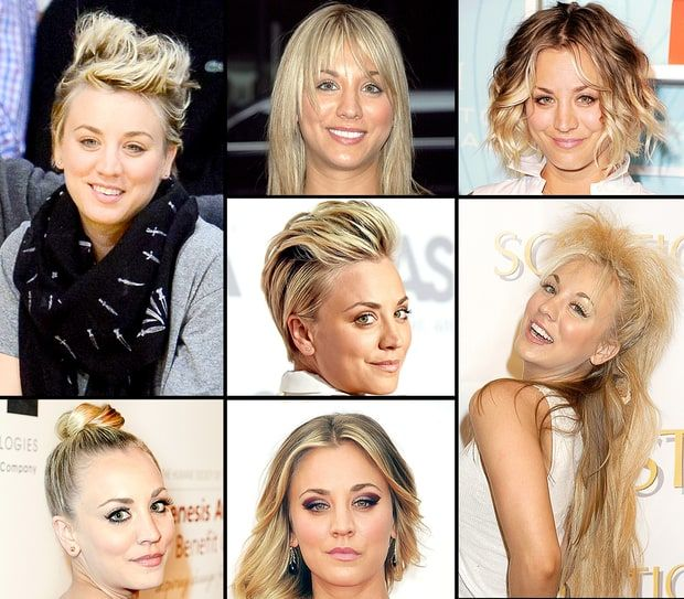 Kaley Cuoco's Hairstyles Over the Years