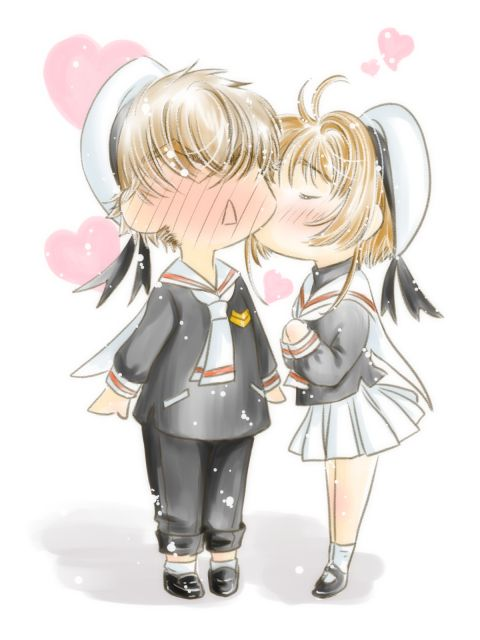 Mwaaaaaaawwwwwwwwwwwww!!! Syrian and Sukura 4 Eva! (The tubasa will always fly together! Even in other manga series!)