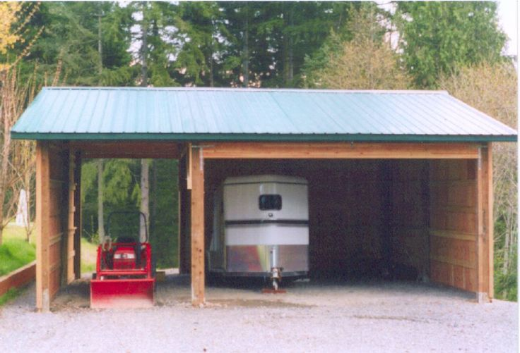 25 best ideas about rv carports on pinterest rv covers for Pole barn equipment shed