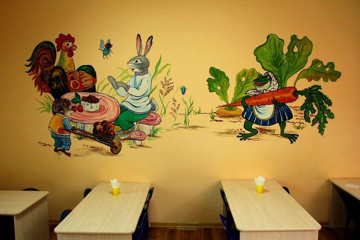 Картинки из сказок для оформления стены