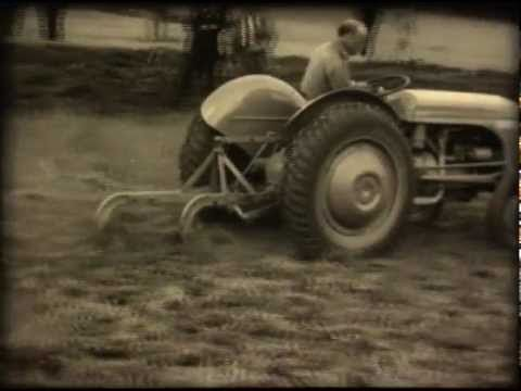 Ferguson tractor, old commercial - YouTube