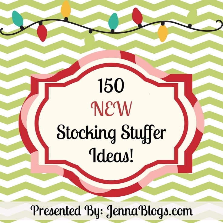 150 NEW Stocking Stuffer Ideas for Everyone!  ~~~Brand NEW List for 2012!~~~ #stocking #stuffer #Christmas