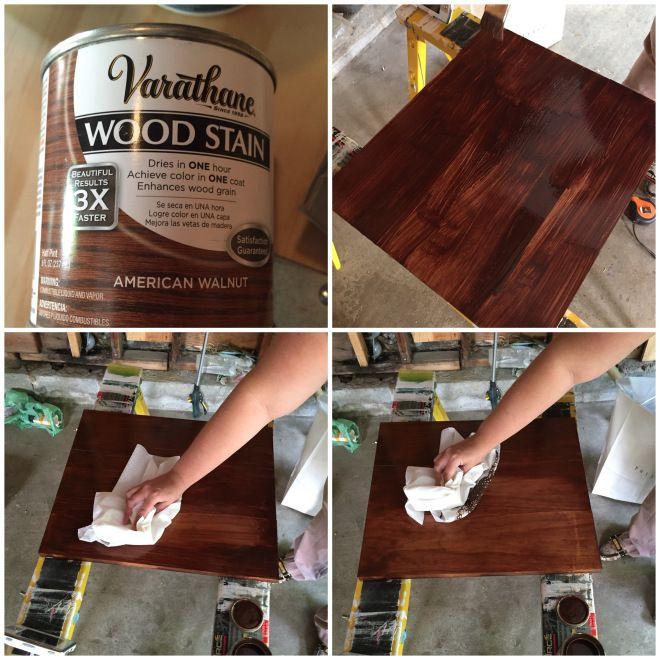 American Walnut Wood Stain, By Varathane