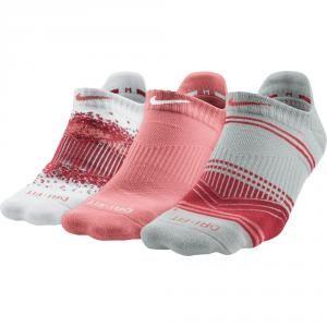 Nike Womens 3Pk Dri-FIT Graphic Socks