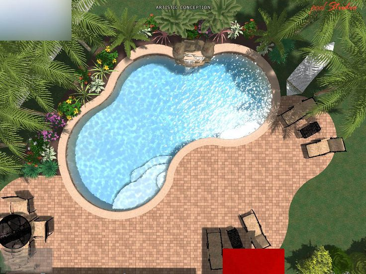 Best 25 kidney shaped pool ideas on pinterest small - Above ground swimming pools orlando florida ...