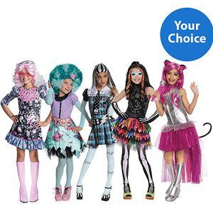 monster high your choice child halloween costume - Walmart Costumes Halloween Kids