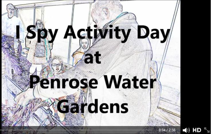 #9 I Spy Adventure film from Penrose Water Gardens. Teresa Kavanagh says: 'We had a great day! Thanks to all the children who joined us'. The video is on fb only.