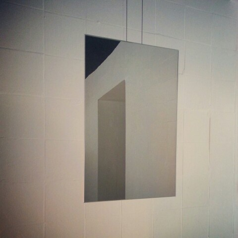 the purest minimalism: Agape mirror @ Showroom Store [LDZ, Poland]