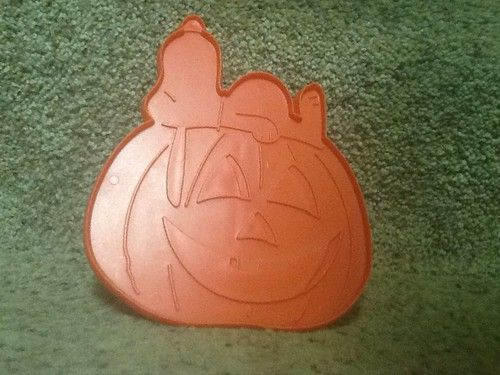 Hallmark Snoopy Halloween The Great Pumpkin Hard Plastic Vintage Cookie Cutter | eBay