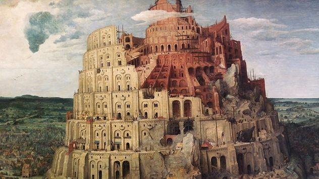 """Питер Брейгель """"Вавилонская башня"""""""