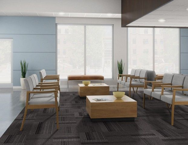 waiting room modern amenity with x table by carolina doctors office o