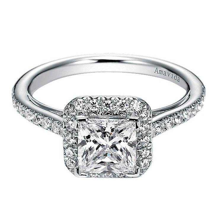 1000 ideas about princess cut halo on