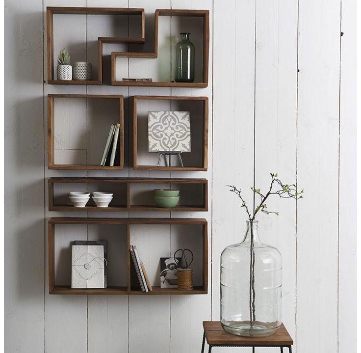 ... over Wandrek op Pinterest - Muur planken, Planken en Open planken