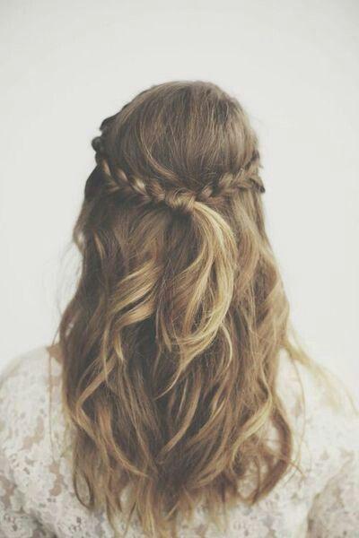 peinado juvenil