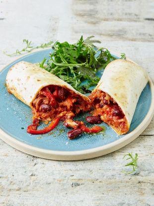 Bean Wrap | Vegetables Recipes | Jamie Oliver Recipes