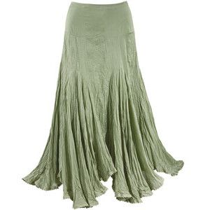 Sage Handkerchief Skirt - New Age & Spiritual Gifts at Pyramid Collection