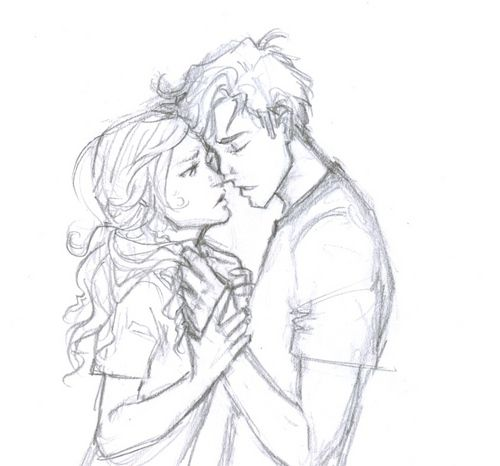 Percy Jackson and Annabeth Chase - the-heroes-of-olympus Fan Art