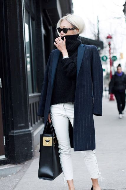how to wear Perfect Pinstripes