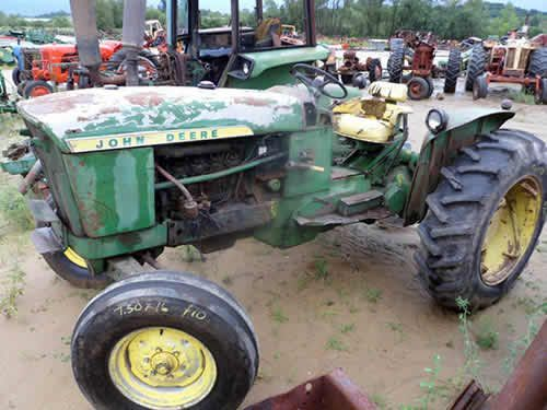 John Deere 2010 tractor salvaged for used parts. This unit is available at All States Ag Parts in Downing, WI. Call 877-530-1010 parts. Unit ID#: EQ-24369. The photo depicts the equipment in the condition it arrived at our salvage yard. Parts shown may or may not still be available. http://www.TractorPartsASAP.com