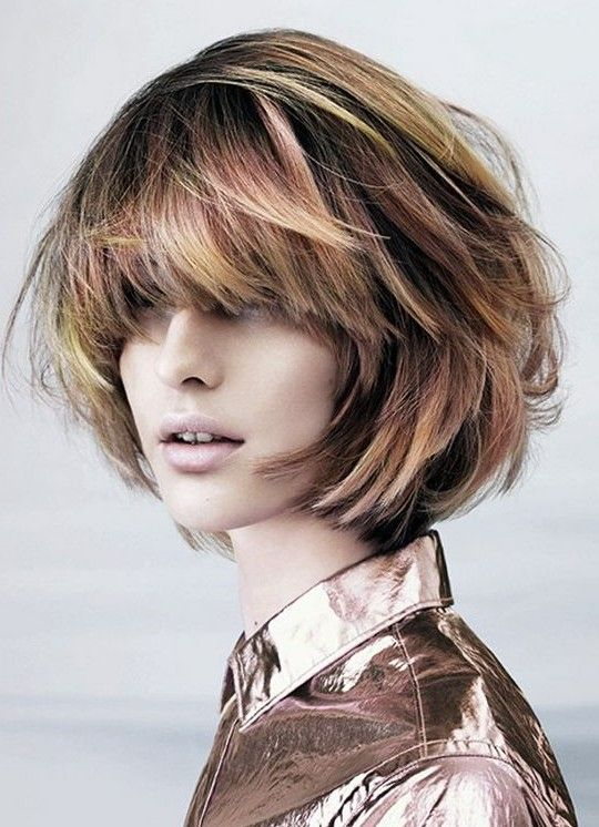 Best Hairstyle For Heavy Face : 106 best hairstyles images on pinterest