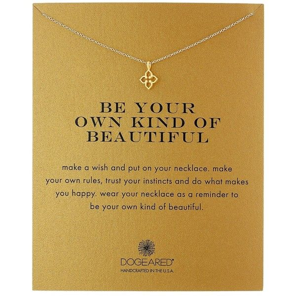 Dogeared Be Your Own Kind of Beautiful Necklace (Gold Dipped) Necklace ($44) ❤ liked on Polyvore featuring jewelry, necklaces, handcrafted necklaces, dogeared jewelry, pendant necklaces, chains jewelry and petite jewelry