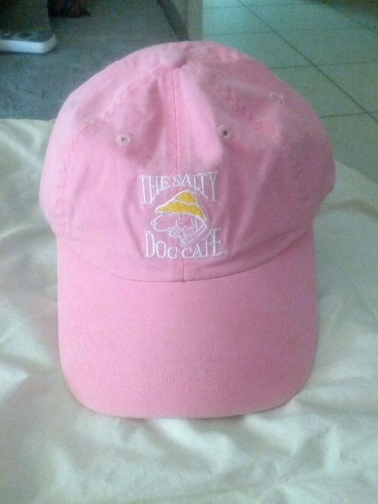 Salty dog cafe Hilton Head SC youth girls ball cap ages 3-7