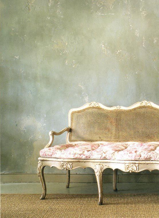 Opt for plaster walls for a rough-luxe touch to your home