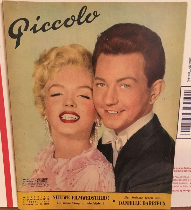 Rare Marilyn Monroe PICCOLO April 3,1955 Magazine Cover From The Netherlands | eBay