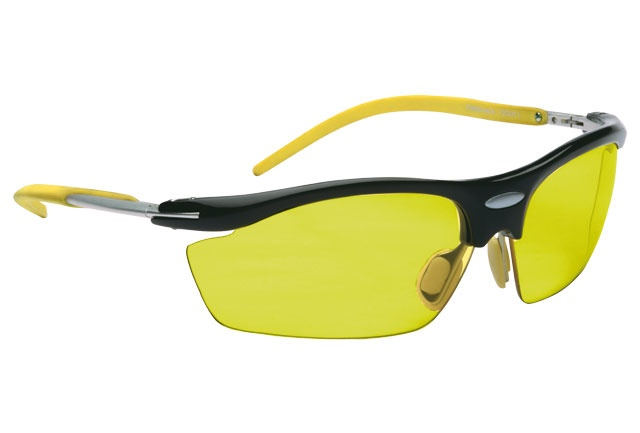 With a rubber grip on the temples and yellow lenses for better night vision. Eye Sport from Fastrack http://www.fastrack.in/product/p208yl1/?filter=yes=india=2=23&_=1334213664321