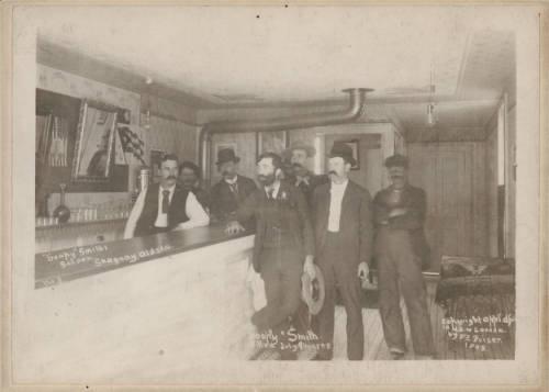 """Soapy Smith's"" saloon, Skagway, Alaska, 1898"