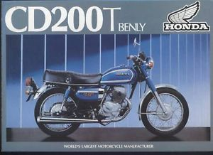 Honda UK CD200T Benly 1980