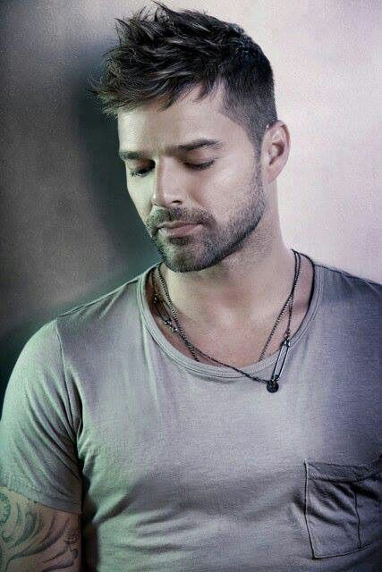 Ricky Martin. Have loved his music since 1999, and continue because he is so passionate and such a beautiful soul.  I love him!