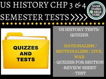 50 best images about US History Tests & Quizzes on Pinterest ...