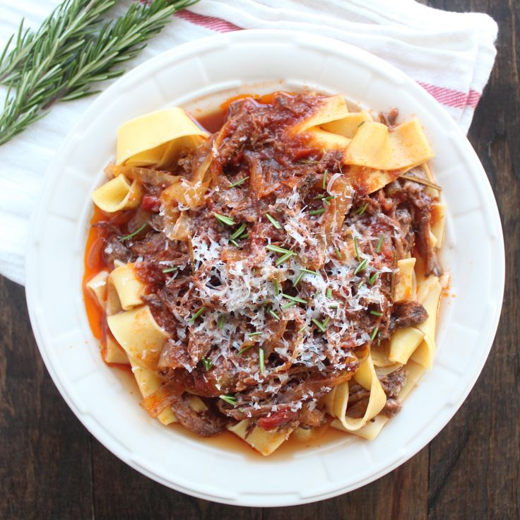 Slow Cooked Beef Ragu FoodBlogs.com