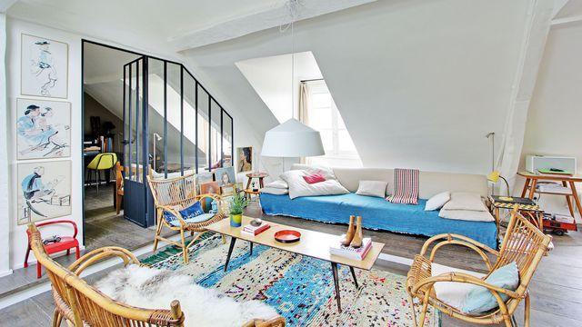 Les 25 meilleures id es concernant v randa avec - Appartement renove avec un cote vintage ...