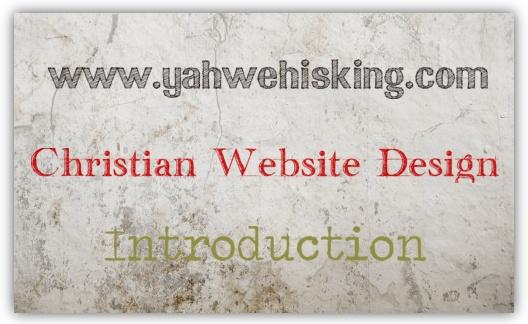 Christian Website Design Free Training Course