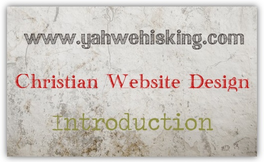 Christian Website Design Free Training Course