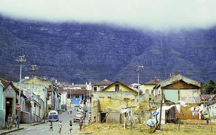 Washday in District Six 1969