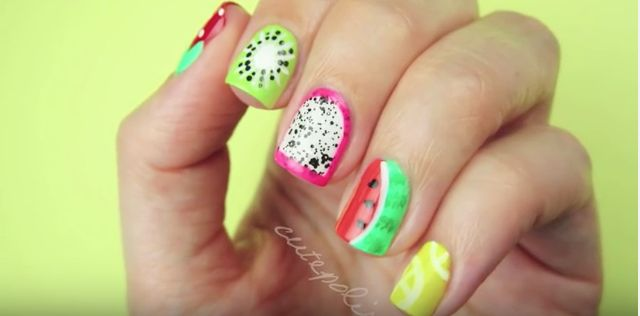 Summer is almost here. Looking for cute nails? These cute summer nail designs allow you to do it yourself so you can have the cutest nails in town.