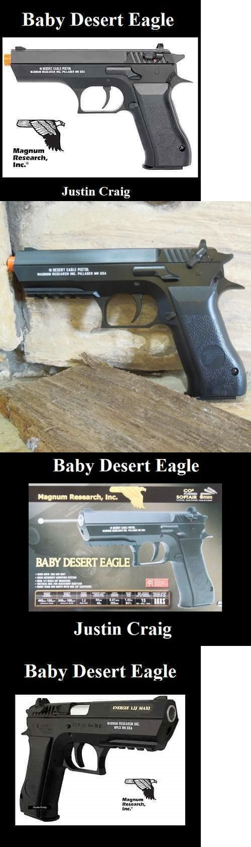 Other Gas Airsoft Guns 31685: Magnum Research Licensed Baby Desert Eagle/Jericho 941 C02 Airsoft Gun 443 Fps BUY IT NOW ONLY: $49.99