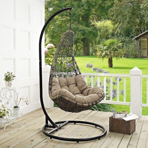 Modway EEI-2276 Abate Outdoor Swing Chair