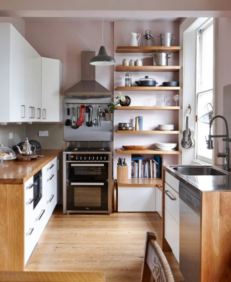 5 Tips On Build Small Kitchen Remodeling Ideas On A Budget: Diseños Cocinas Pequeñas Forma L Y Lineales