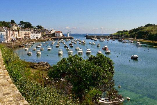 sauzon, belle ile en mer, France, such a lovely place
